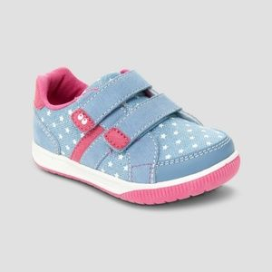 Toddler Girls Twinkle Stars Elise Sneaker Shoes 4